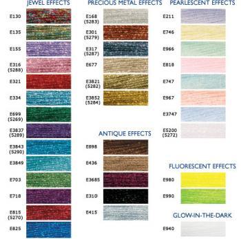 Modern Jacobean Embroidery Kits - Modern Jacobean, Hand